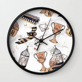 Potter Things Wall Clock
