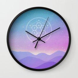 Fruit Of Life Wall Clock