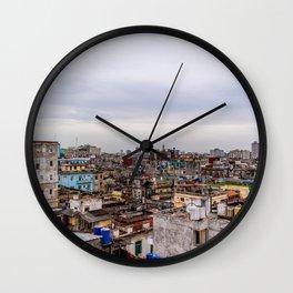 Ciudad de La Habana Wall Clock