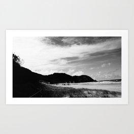 Beach Wedding, Byron Bay Art Print