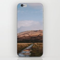 Trail through the Scottish Highlands iPhone & iPod Skin