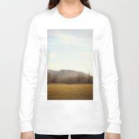 kentucky Long Sleeve T-shirts featuring Kentucky Hills by KimberosePhotography