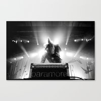 hayley williams Canvas Prints featuring Hayley Williams by Ethan Luck