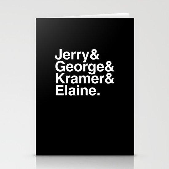 Seinfeld Jetset Stationery Cards