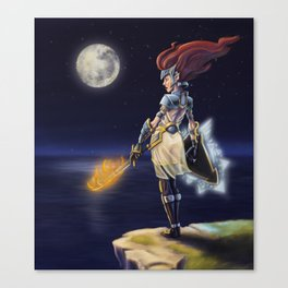 Night Warrior Canvas Print