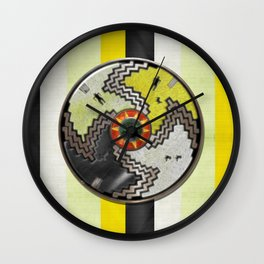 Apache Pride Wall Clock