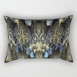 Fractal Dream Forest Rectangular Pillow