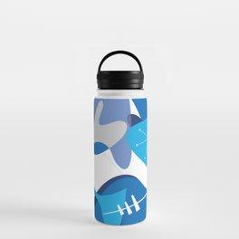 Blue Bam Boom Water Bottle