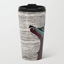 Bohemian Zorro Fox (left) Travel Mug