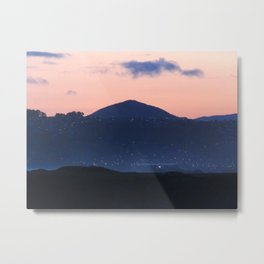 Tahuna road sunset Metal Print