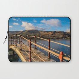 Padarn Lake Footbridge Laptop Sleeve