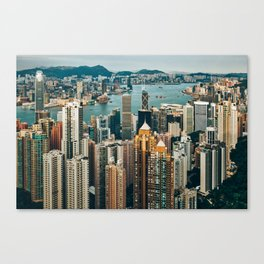 Golden Harbour Canvas Print