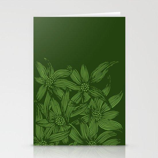 MAUA flowers 1 Stationery Cards