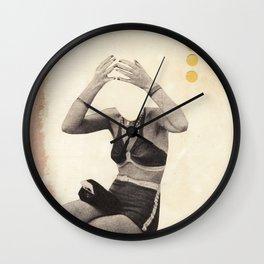 Losing my Head Wall Clock