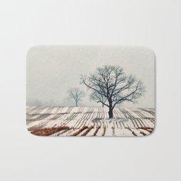 Winter Farm Bath Mat