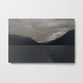 Moody Lake Metal Print