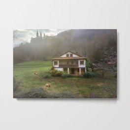 Pastoral landscape Metal Print