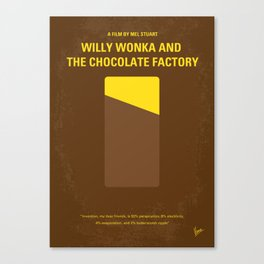 No149 My willy wonka mmp Canvas Print