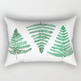Fiordland Forest Ferns Rectangular Pillow