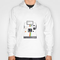 polaroid Hoodies featuring Polaroid by Mariam Tronchoni