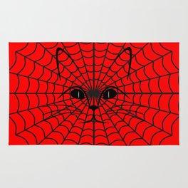 Spider Cat  Rug