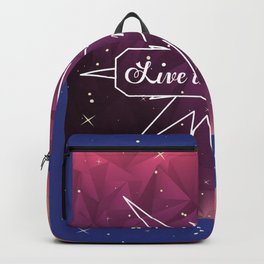 Live the moment Backpack