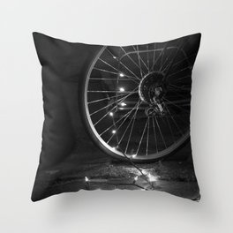 Hope in the Spokes Throw Pillow