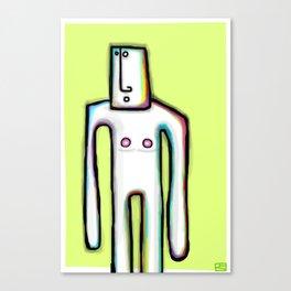Shado Uno Canvas Print