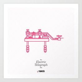 The Electric Telegraph Art Print