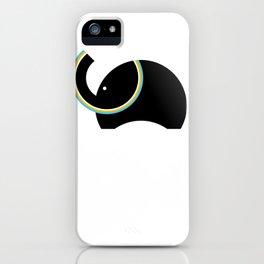 Retro Elephant iPhone Case