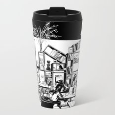 Cafe in Beijing  Travel Mug