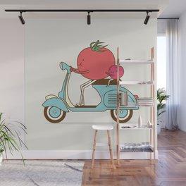 Cherry Tomato Wall Mural