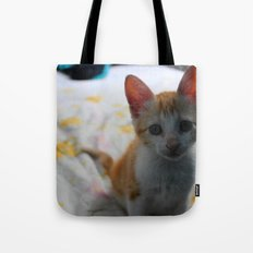 ORANGE CAT. Tote Bag