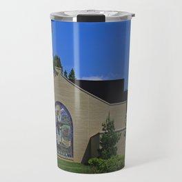 Lourdes University- Jesus Feeding the Crowd III Travel Mug