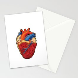 Live Wholeheartedly Stationery Cards