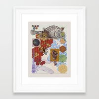 polygon Framed Art Prints featuring Polygon by Mantis Galleries