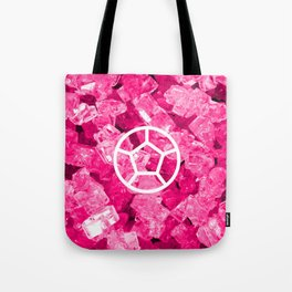 Rose Quartz Candy Gem Tote Bag