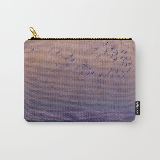 'under every deep a lower deep opens' Carry-All Pouch