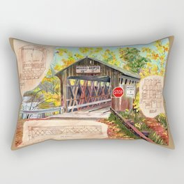 Rebuild the Bridge Rectangular Pillow