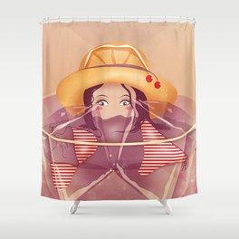 Summer Drink Shower Curtain