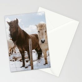 Icelandic Horses Stationery Cards