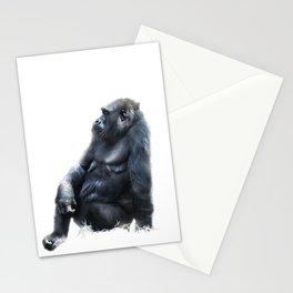 Sitting, waiting, wishing Stationery Cards