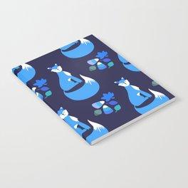 Autumn Fox (Blue) Notebook