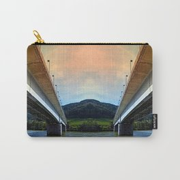 Danube river bridge | architectural photography Carry-All Pouch