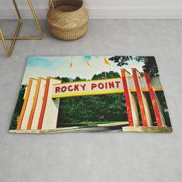 Rocky Point Amusement Park Photograph #2 – Warwick, Rhode Island Rug
