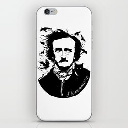 Edgar Allen Poe iPhone Skin