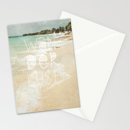 Wanderlust II Stationery Cards