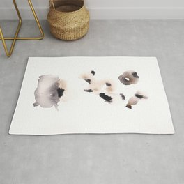 Temperance- 151124  Abstract Watercolour Rug