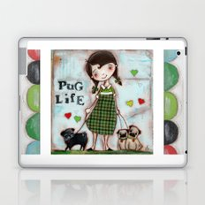 Pug Life - by Diane Duda Laptop & iPad Skin