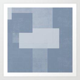Case Study No. 42 | Blue Art Print